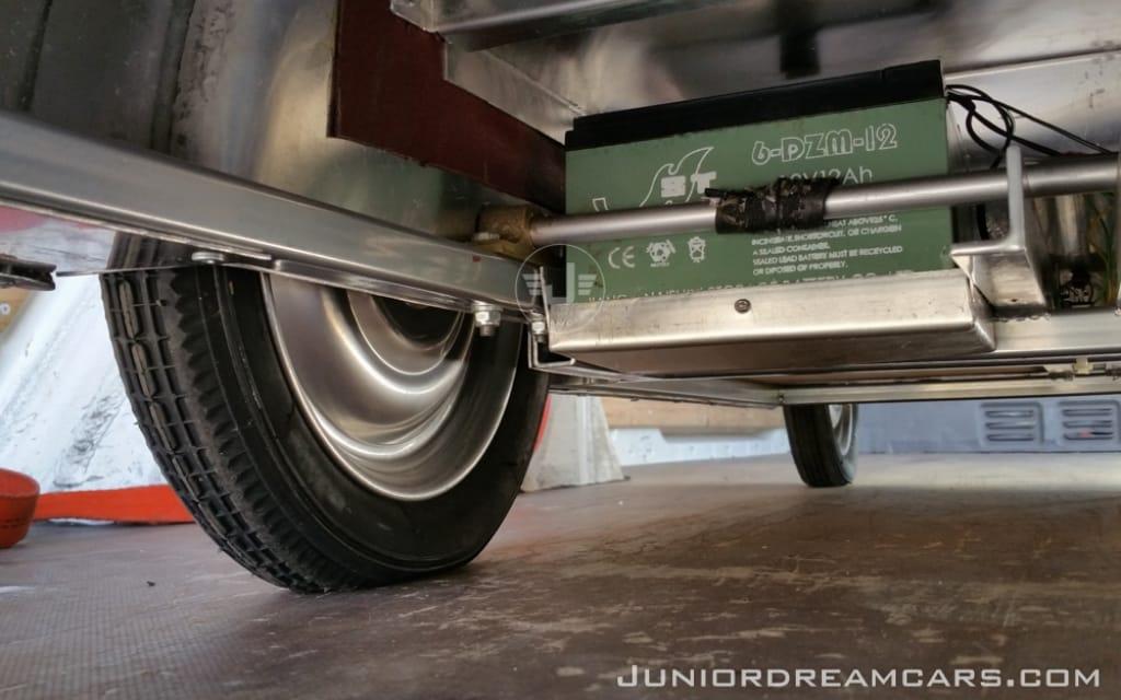Jaguar XK120 alu
