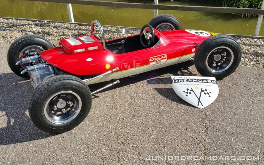 Lotus F1 Racer Gold Leaf '49