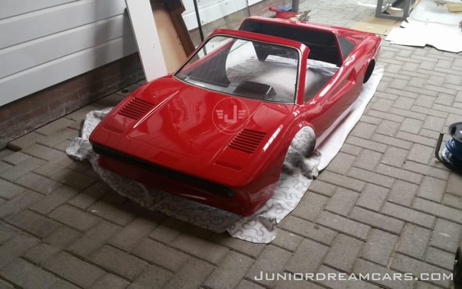 Ferrari 308GTS Agostini restauratie