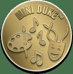 Gold Mini Duke Award Badge