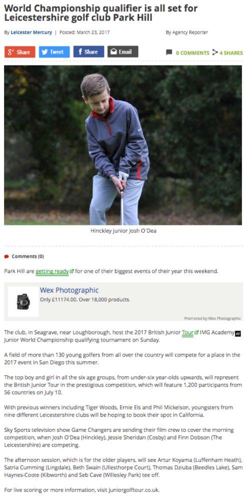 British Junior Golf