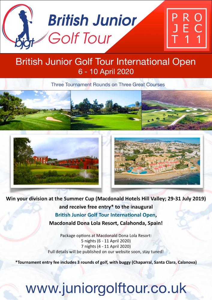 British Junior Golf Tour International Open