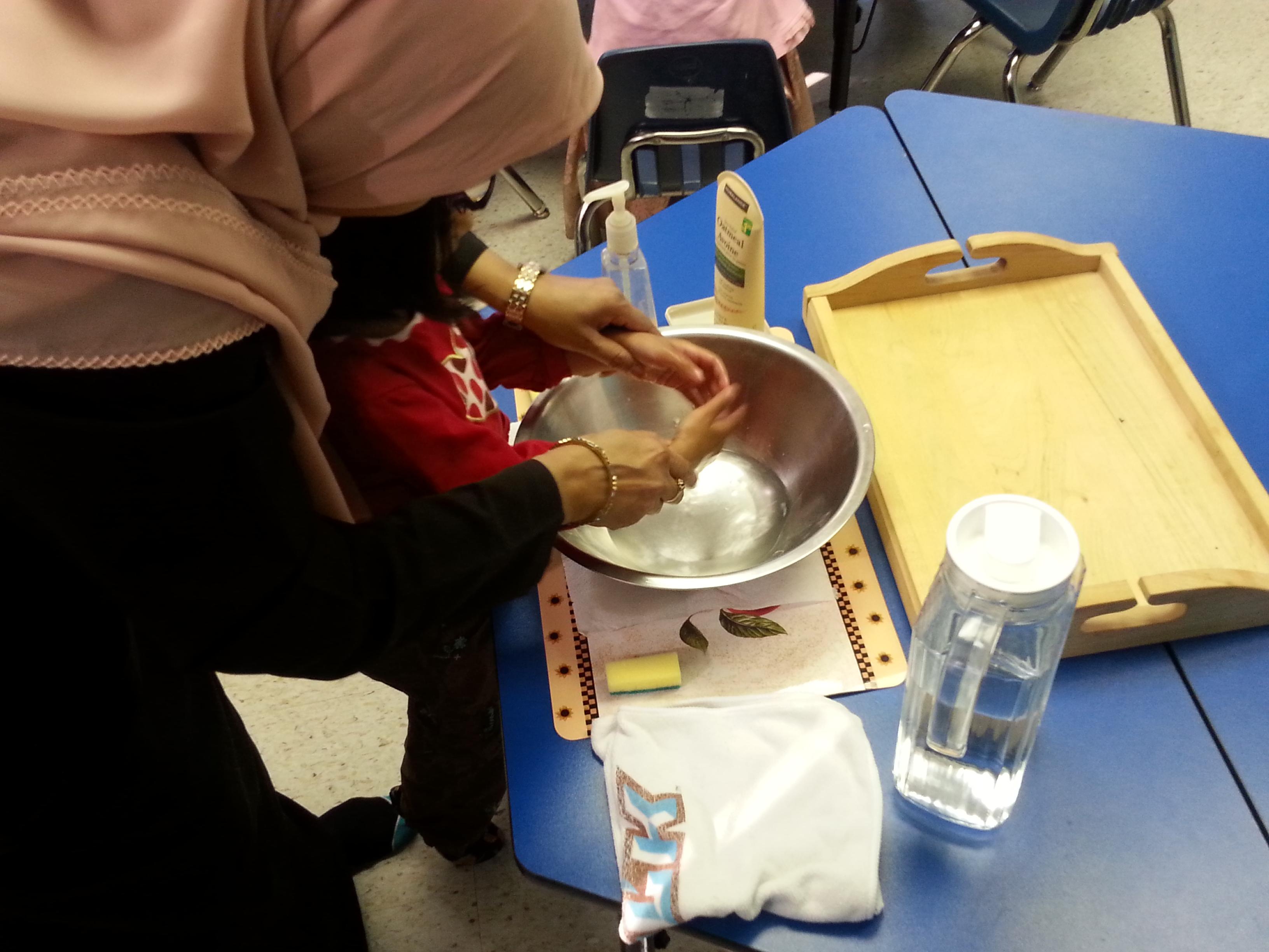 Hand Washing Activity Amp Other Montessori Activities Preschoolers Juniors Program