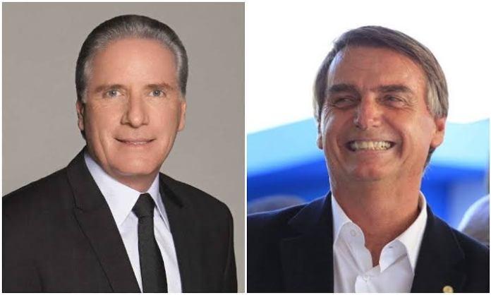 Roberto Justus e Bolsonaro