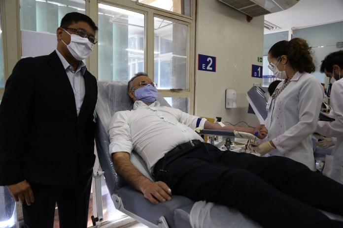 SERP-DF realizam dia de doação de sangue