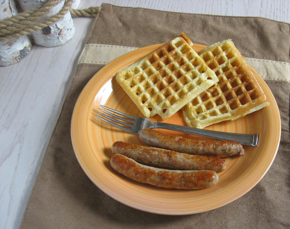 Sweet Cinnamon Waffles