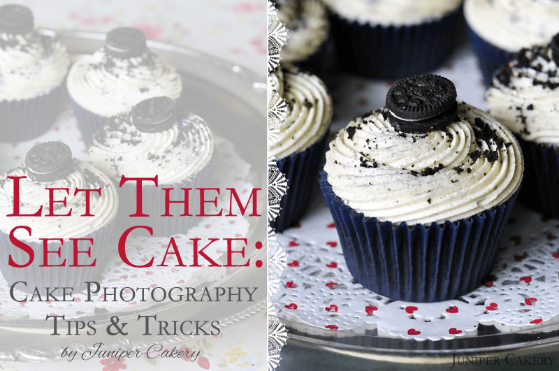 Cake Photography Tips & Tricks