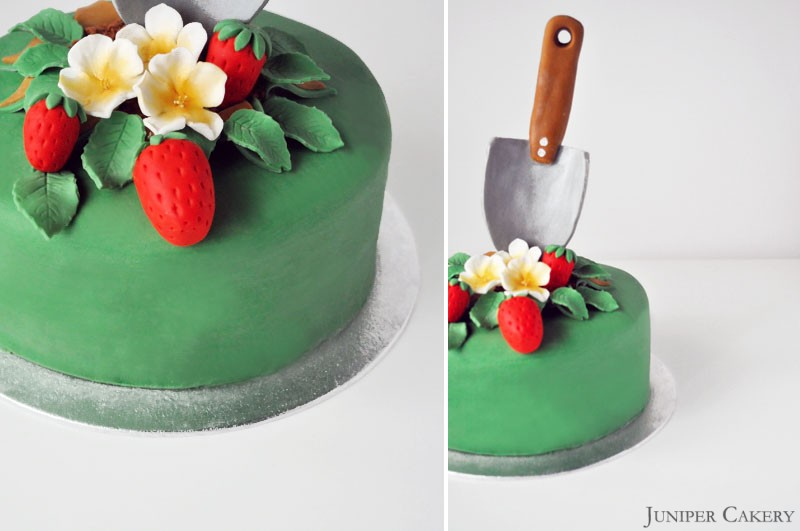 How to Make Fondant Strawberries and Strawberry Blossoms