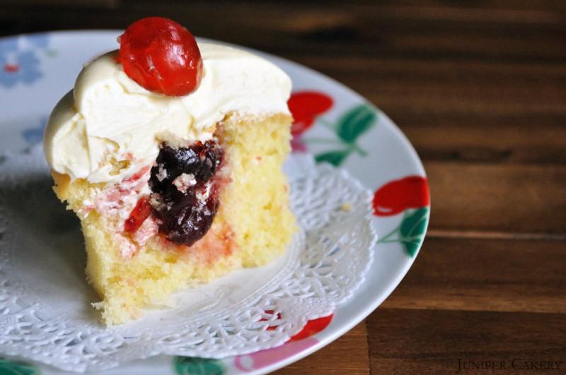 Cherry Bakewell Cupcake Recipe