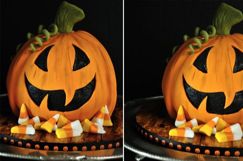 Pumpkin Cake by Juniper Cakery