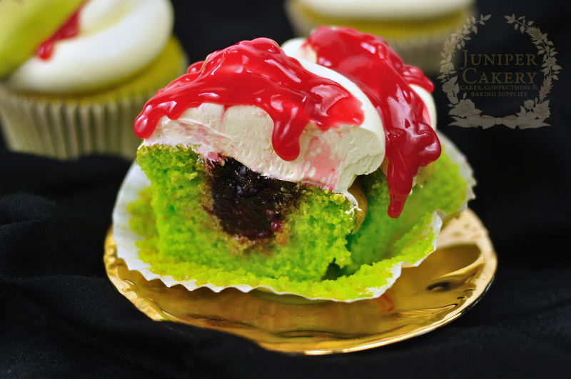 Zombie cupcakes by Juniper Cakery
