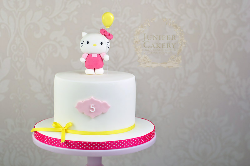 Hello Kitty Birthday Cake Juniper Cakery Bespoke Cakes In