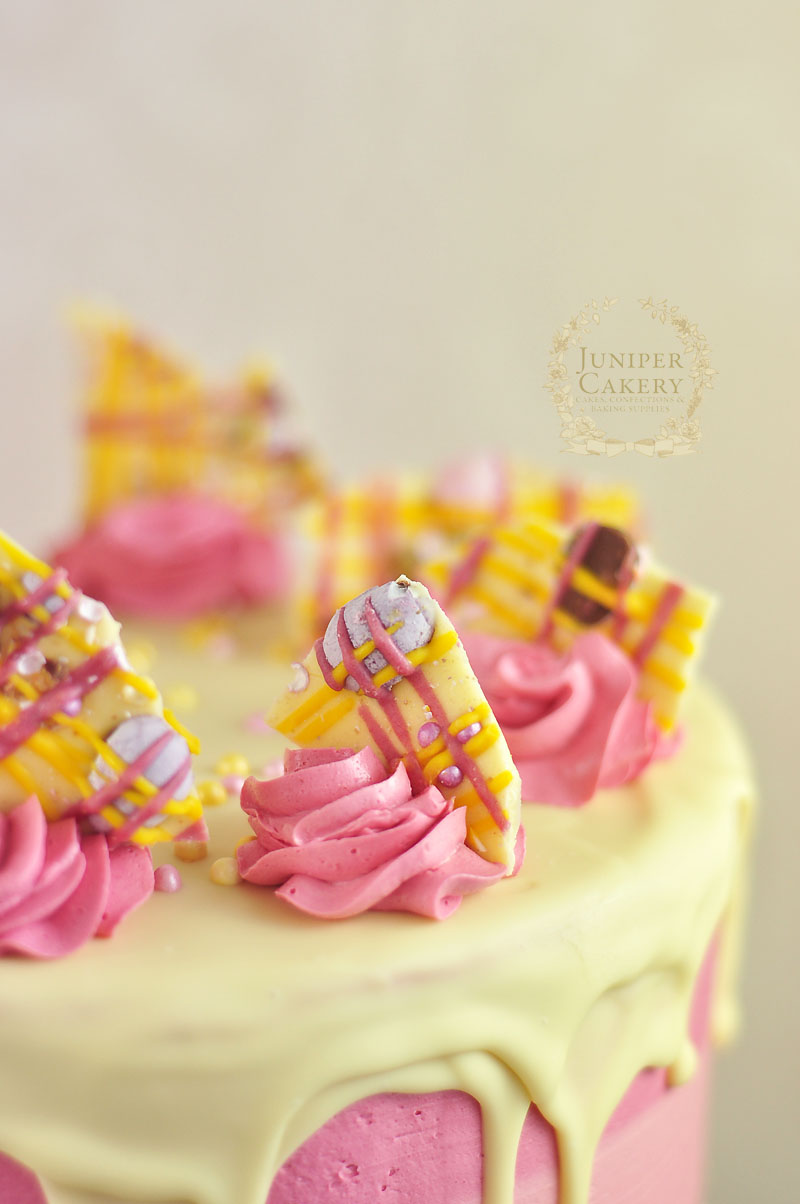 Strawberry Milkshake Cake by Juniper Cakery