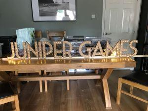 Juniper Games LED Sign