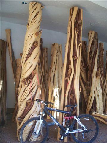 Western Juniper Logs and Columns