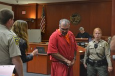 Marvin Ray Markle, 51, appears in the Butte County Superior Court after being charged for the shooting of Shirley Ann Pratt, which occurred 12 years before.