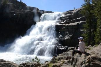 Waterfall on the Upper Tuolumne.