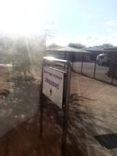 Entering Zimbabwe.
