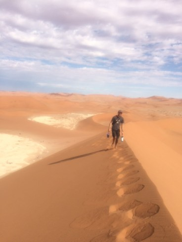 Dubbed the highest sand dunes in the world, Sossusvlei is a popular tourist and filming destination.