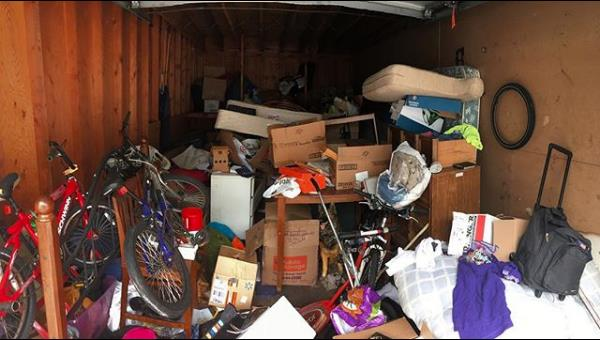 Garage Packed With Garbage Call Junk360 Junk 360
