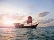 Junk Boat Cruise Around Koh Phangan Thailand