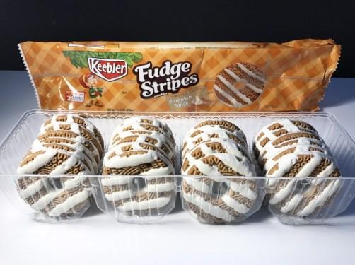 Keebler Pumpkin Spice Fudge Stripes