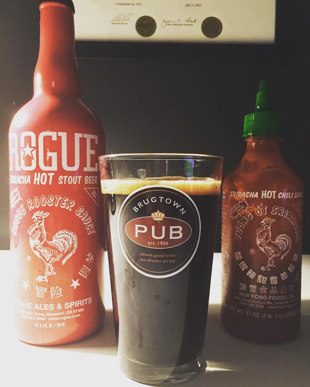 REVIEW: Rogue Sriracha Hot Stout - Junk Banter