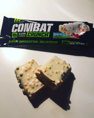Combat Crunch Birthday Cake