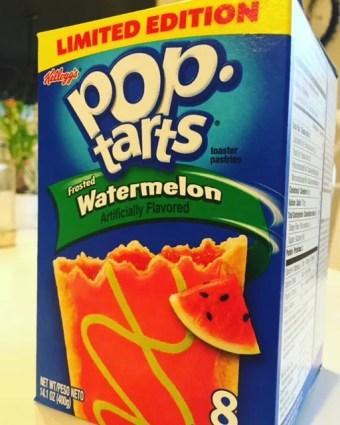 Watermelon Pop Tarts