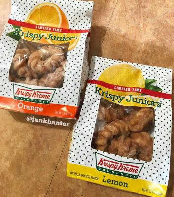 Krispy Kreme Krispy Juniors (Orange & Lemon)