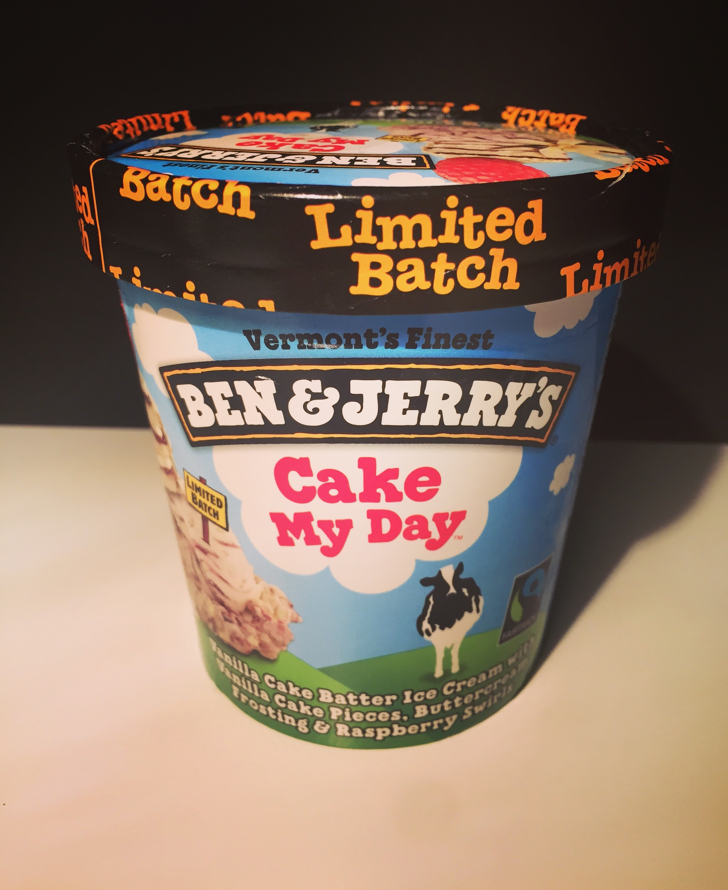REVIEW Ben Jerrys Cake My Day Ice Cream Junk Banter