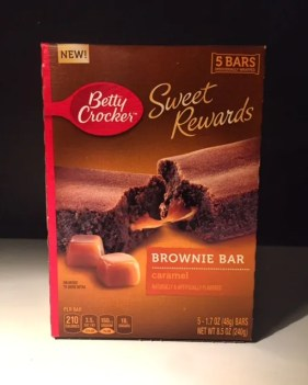 Betty Crocker Sweet Rewards Caramel Brownie Bar