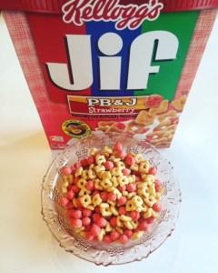Kellogg's JIF PB&J Cereal