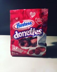 Hostess Red Velvet Donettes