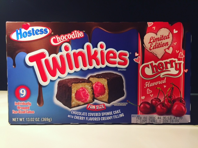 REVIEW: Hostess Cherry Chocodile Twinkies - Junk Banter