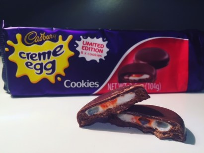 Cadbury Creme Egg Cookies