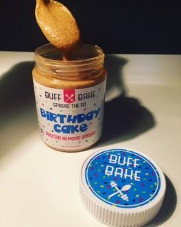 Buff Bake Birthday Cake