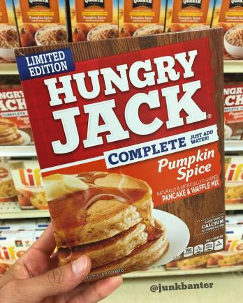 Hungry Jack Pumpkin Spice