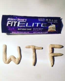 Chef Robert Irvine's Fit Elite Birthday Cake
