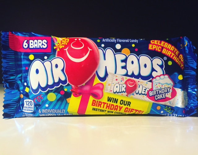 REVIEW Birthday Cake Airheads