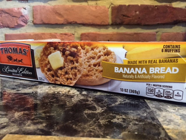 REVIEW: Thomas' Banana Bread English Muffins
