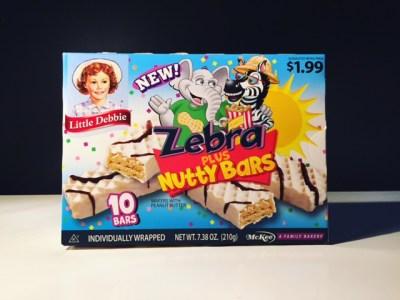 Little Debbie Zebra Plus Nutty Bar