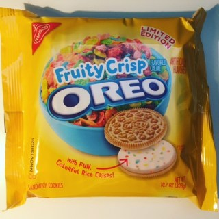 Nabisco Fruity Crisp Oreos