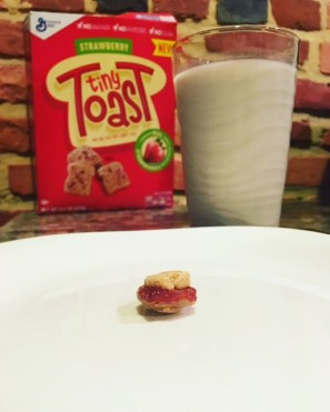 World's Tiniest PB&J.