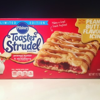 Pillsbury Peanut Butter & Strawberry Toaster Strudel