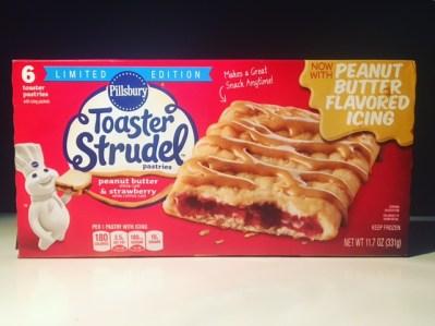 Pillsbury Peanut Butter & Strawberry Toaster Strudel