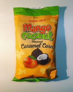 REVIEW: Trader Joe's Mango Coconut Caramel Corn