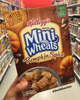 Kellogg's Frosted Mini Wheats Pumpkin Spice