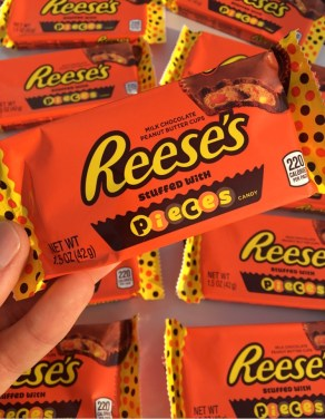 Reese's Stuffed with Pieces Candy