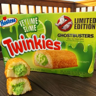 Hostess Key Lime Slime Twinkies